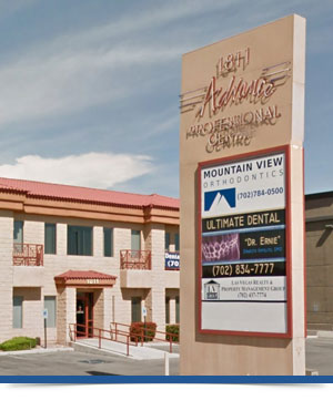Our Location Las Vegas NV Mountain View Orthodontics